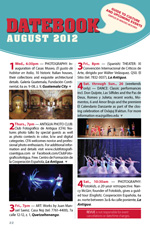 Revue's Datebook for August 2012