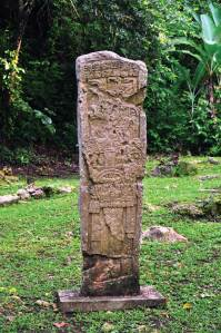Stelae at Aguateca