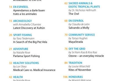 October 2012 in Revue Magazine