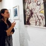 Latest works by Byron Rabé at Mesón Panza Verde by Nelo Mijangos