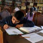 The 2,500 students at Open Windows have access to excellent teachers and a library with 11,000 books