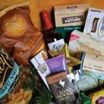 Tasty options for gift baskets from Orgánica