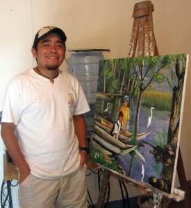 Artist José Méndez started Ayúdame with his brother Henry