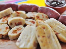 Posición/Position: Mención honorífica / Honorable mention Tema/theme: Comida guatemalteca / Guatemalan food Título/title: Tamalitos con Chorizo Lugar/place: Ciudad de Guatemala Autor/author: Javier Quintanilla