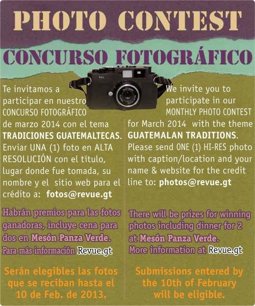 REVUE's March 2014 Photo Contest: Guatemalan Traditions