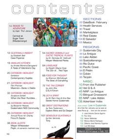 February 2014 in Revue Magazine