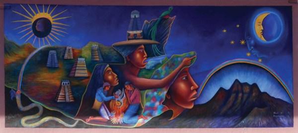 Guatemalan Map - Gloria Cholotio