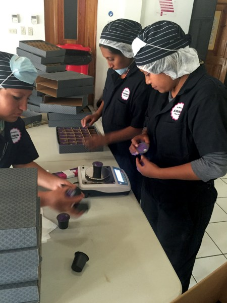 Every Kcup is weighed before being packed into the box