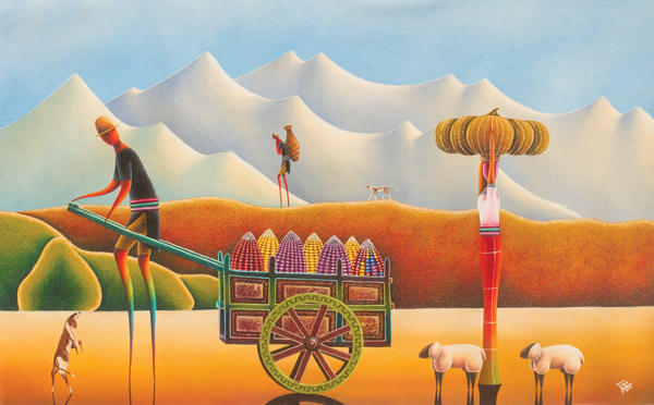 Edgar Chipix art Guatemala
