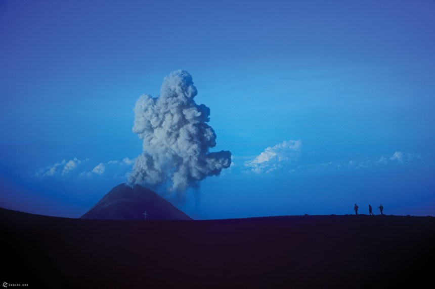Guatemalan Volcano eruption
