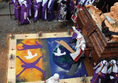 Guatemala Holy Week Carpet