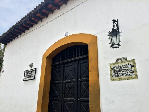 Colegio Mayor de Santo Tomás, La Antigua (Hadazul Cruz)