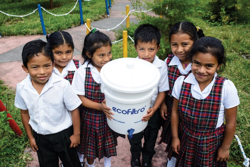 Clean water for schools in Guatemala