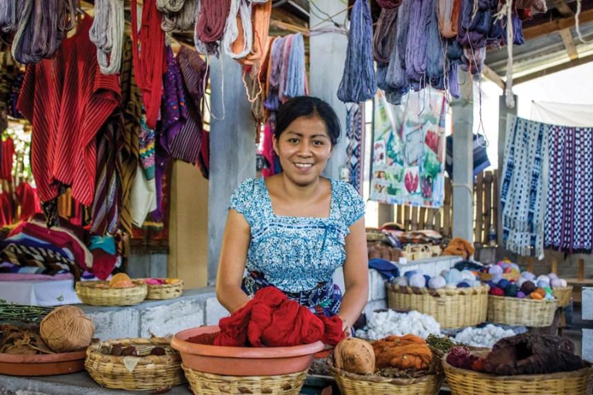 "2nd PLACE ""Raw Materials"" San Juan La Laguna by Tamia Hurtado. Prize: Q100"