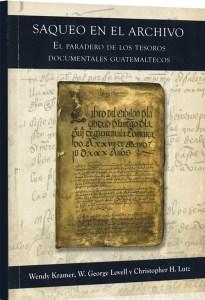 Saqueo en el Archivo Guatemala