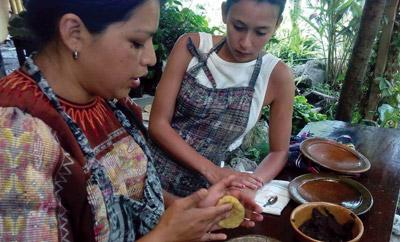 Mayan cuisine Guatemala
