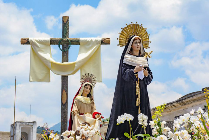 Virgen de Dolores from La Merced, photo by José Mighel Hosttas V.