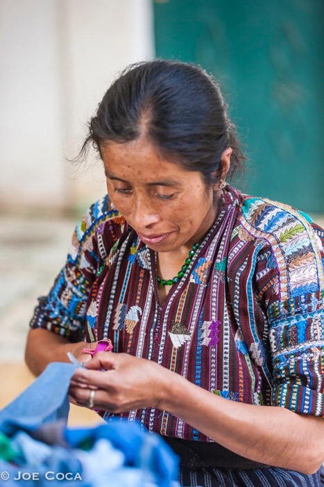 """The Guatemalan weavers """"Multicolores Collective"""""""