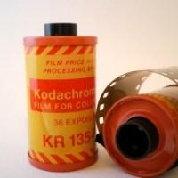 La Pellicule Kodachrome c'est terminé