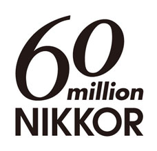 NIKKOR 60 million Logo
