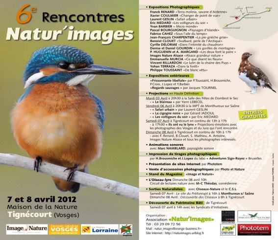 Programme Natur'Images