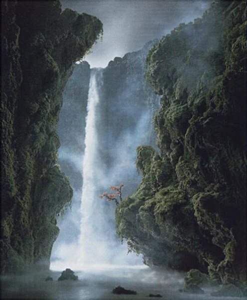 Didier Massard, La Cascade, 2001