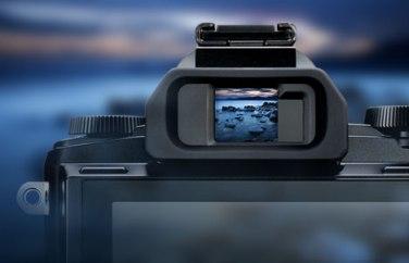 Viseur électronique avec prévisualisation en temps réel des effets et filtres artistiques