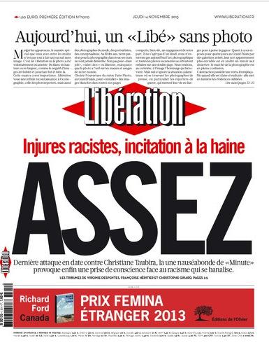 Libération sans photo