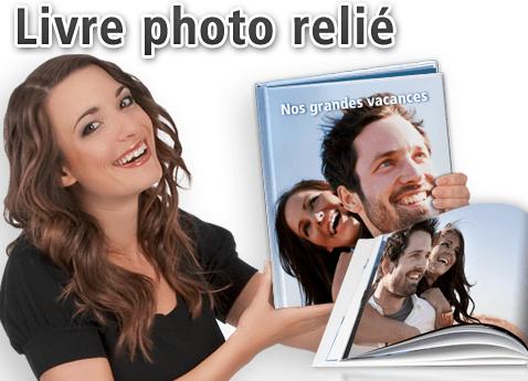 Poster XXL impression de livres photos reliés