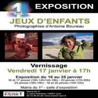 """Exposition """"Jeux d'enfants"""" du photographe Antoine Boureau à Lyon"""