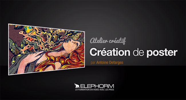 Elephorm - Réaliser des posters avec Photoshop