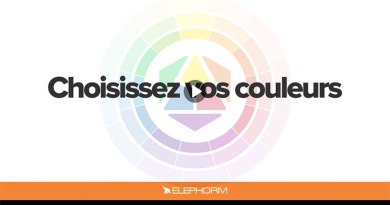 Choisissez vos couleurs – Pour le Webdesign et le Print