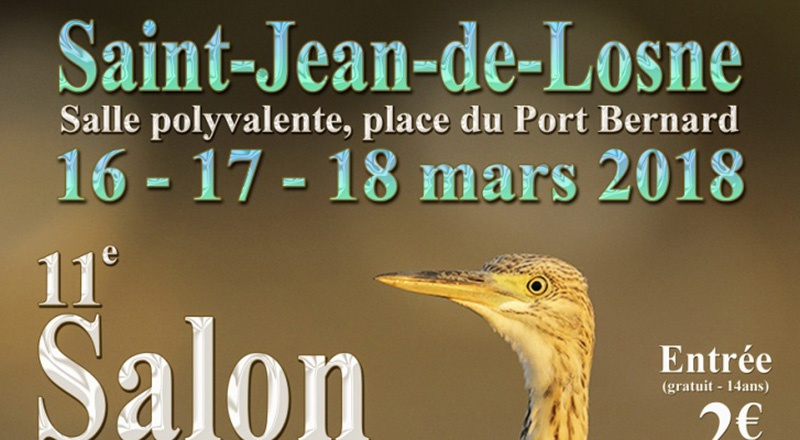11ème Salon Photo Nature du Val de Saône du 16 au 18 Mars 2018