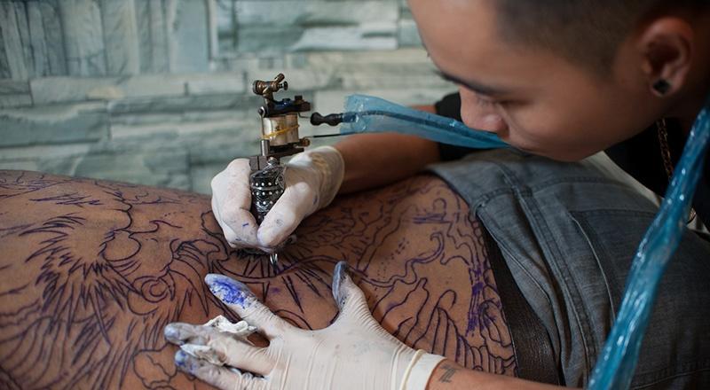 Tatoueur Vietnamien
