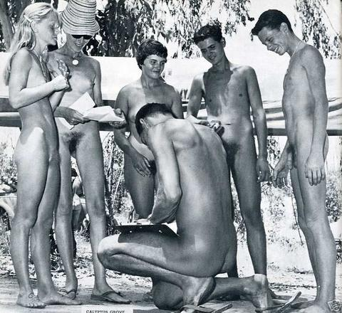 vintage nudist camp