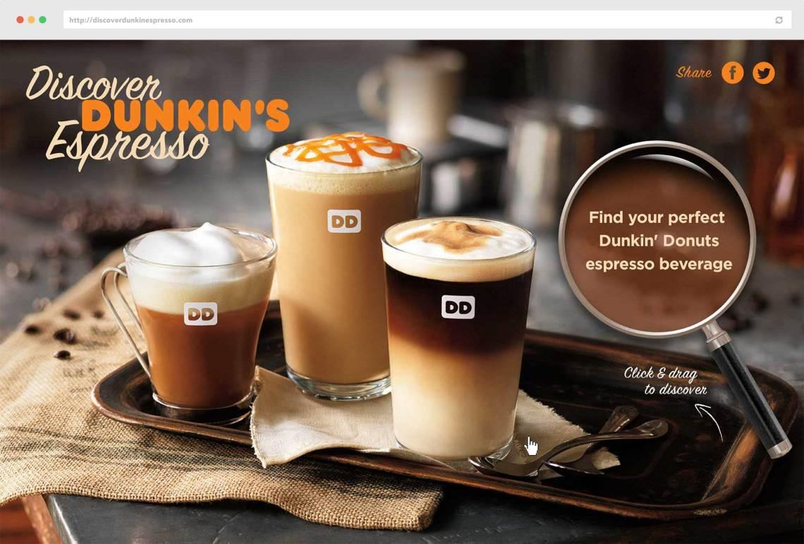 Dunkin' Donuts | Web Design, Branding, Digital Advertising