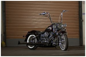2010 Street Glide Brake Wiring Harnes  burly handlebar cable installation kit for harley 10 16
