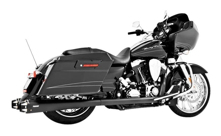 freedom performance american outlaw true dual exhaust for harley touring 1986 2008 10 140 00 off revzilla