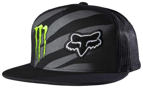 Fox Racing Monster Zebra Snapback Hat - RevZilla