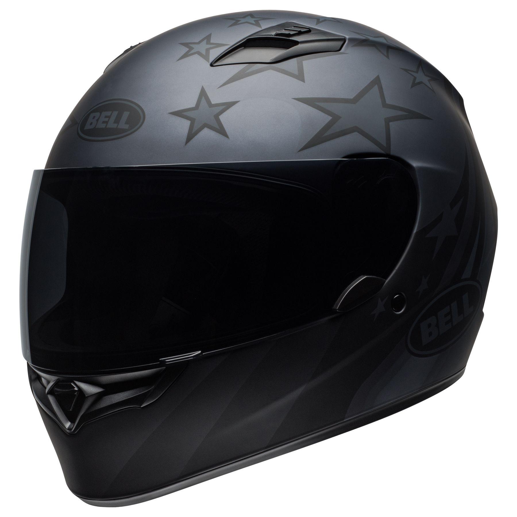 Bell Qualifier Honor Motorcycle Helmet Matte Titanium Black Xl