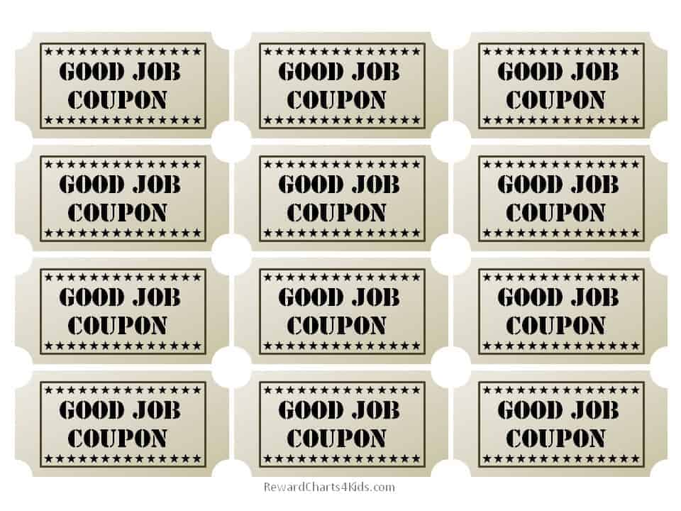 Free Good Job Sticker Printables Print On Paper And Adhere With Glue