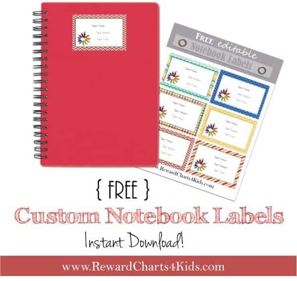 Free Personalized Name Labels For School Print At Home