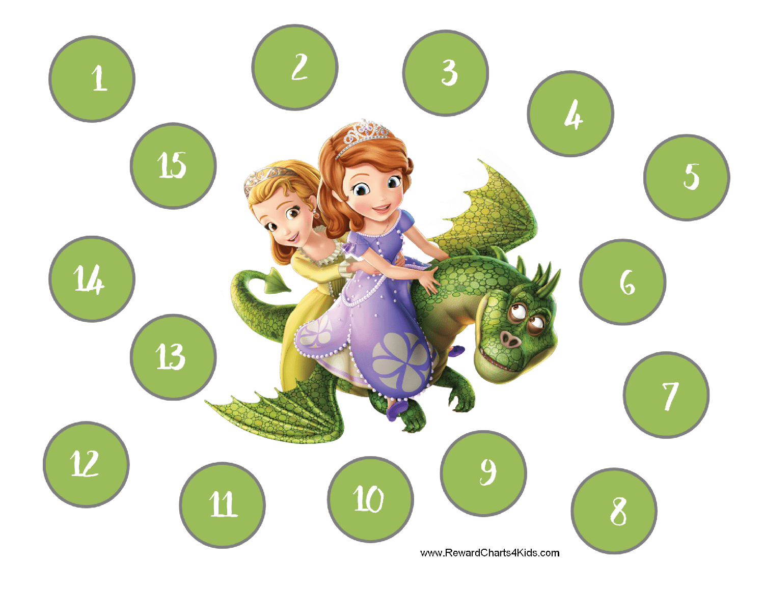 Free Customizable Sofia The First Printables
