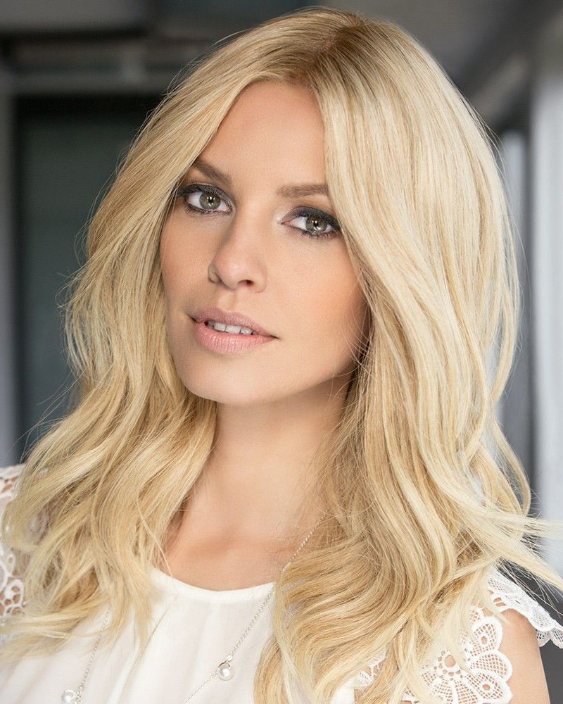 Lace Front Mono Top Natural Wavy Blonde Bob Wigs