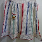 hand crocheted apron
