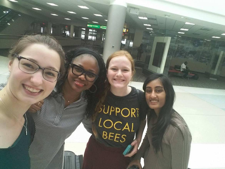 From left to right: Angela, Camie B., NYWOD Elizabeth Klosky, NYWOD Rajvi Ranka