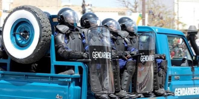 gendarmerie gendarmes senegal