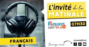 Invité De La Matinale Abdou Samad Diouf
