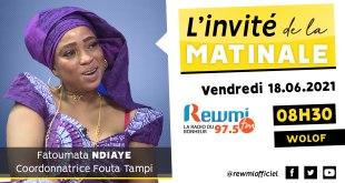 Invité de la Matinale Fatoumata Ndiaye