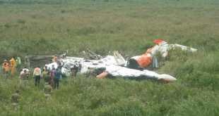 RDC : un petit avion s'écrase